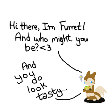 Furret Meets Taco by Giniqua