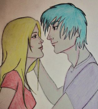 Teddy and Victoire by princesspomegranate