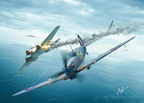 Flypast Original Artwork ! by rOEN911