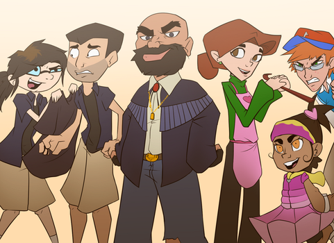 Acachalla Family Reboot by RRproAni