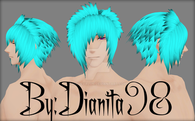 MMD Scene Hairstyle/OC Preview/Wip by dianita98