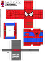 Paper Pezzy- Spider-Man by CyberDrone