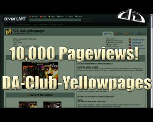 10,000 pageviews by DA-club-yellowpages