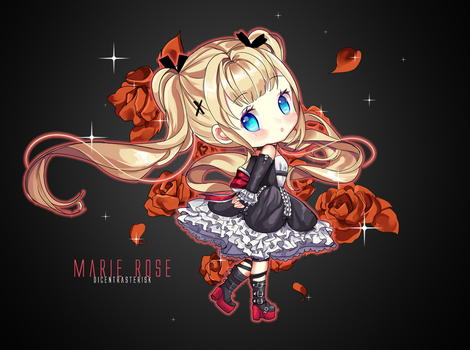 Marie Rose by DicentraOfTheEarth