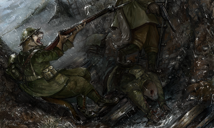 The Somme - Commmission by NerezaWorks