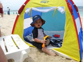 Beach Tent For Babies by Outdoorfriend