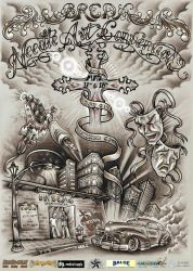 Needle Art Tattoo Convention by mcr-raven
