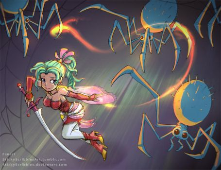 Final Fantasy, Terra Part1 by StickyScribbles
