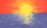 Sunset June challenge by PlayerZed