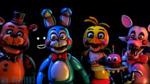 [SFM/FNAF] The FNAF 2 Cast Part 1 by MrClay1983