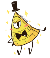 Fabulous Bill Cipher :D by Chaotic-Marxie76