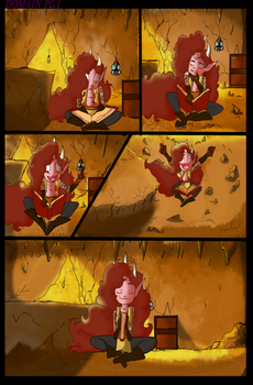 DomAiN-comic page sheet pg#1 by Alidli