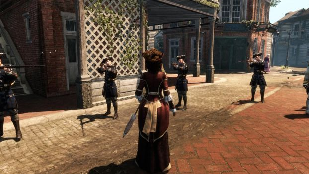 Assassin Creed Liberation Lady Aveline busted! by MillianaRose