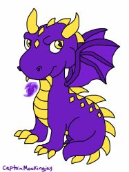 Purple Dragon for MaggieExe by CaptainMockingjay