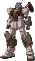 RGM-86RV GM III Semi-Seeker by RedZaku