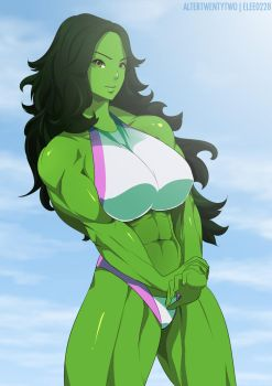 She-hulk by elee0228