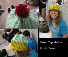 Knit Cupcake Hat by EriiEtCetera