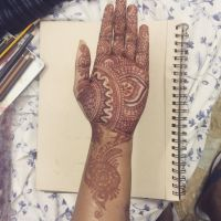 Mehendi (Indian body art) by thecolourpeople
