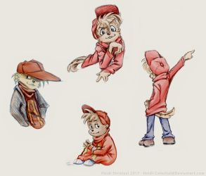 Alvin Sketches by Heidi-Celestial