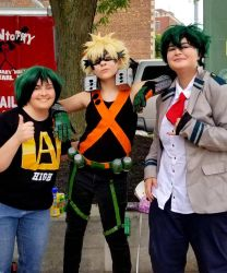two delis and bakugo by hpa-Feliciano