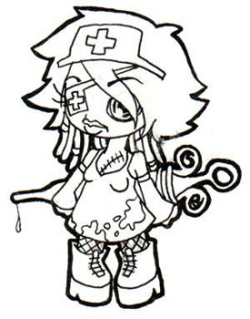 Little Gothic Nurse by Drakenoom