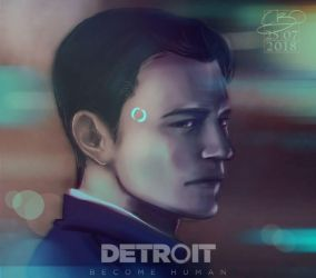 Detroit Become Human - Connor by Poticceli