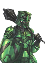 Paragon of Loyalty, Danford the Unbreakable by LordWolx