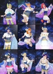 Love Live Constellation by NEProject