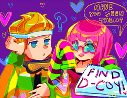 dance central: #finddcoy by moondazzle