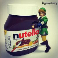 Link's Nutella Love! by FigmaStory