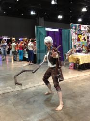 Jack Frost from Rise of the Guardians at CTcon '13 by Glam-Baby