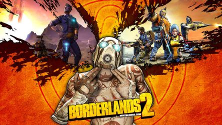Double Shot Psycho Wallpaper Borderlands 2 by mentalmars