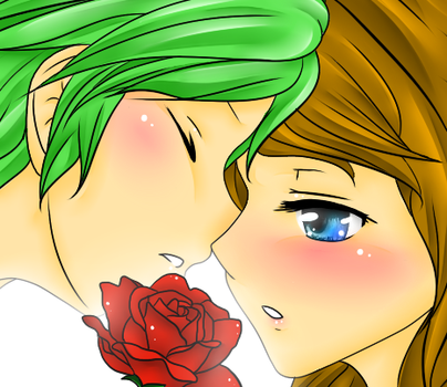 Do you know what a red rose means? by mandaangel96