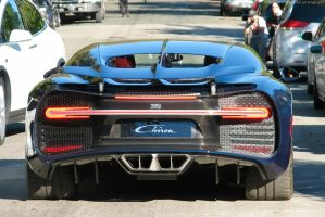 Black on Blue Carbon by SeanTheCarSpotter