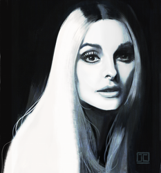 Sharon Tate by JustinCoffee