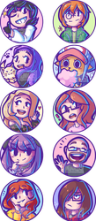Icon Commissions [Batch 1] by Honnojis