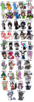 NEW AND IMPROVED! Omniverse Character Line Up by RiotLizard