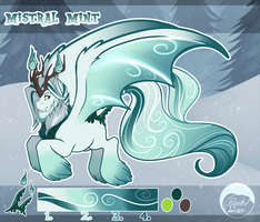 [Scented Pony] Mistral Mint (Animated Reference) by PaintedWave