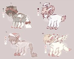 Set Price Aesthetic Doggos (Closed) by PickleAdopts