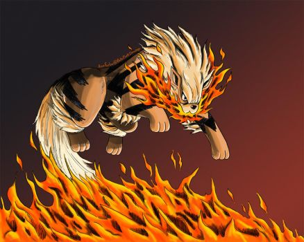 Arcanine by BetaPunkDrawings