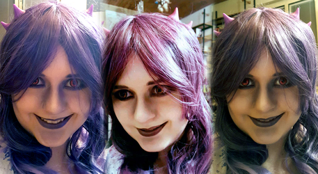 Gengar make-up test by MissSleeper