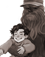 chewie by RinGreen