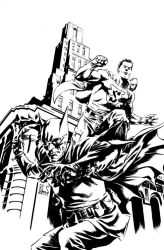 DCFiftyToo-World's Finest inks by ronsalas