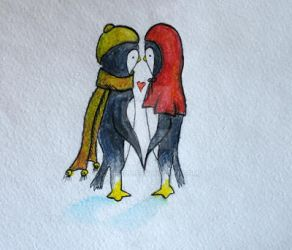 Love penguins by cahelud