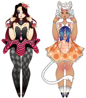 Set Price Adopts [2/2 OPEN] by caitiecat-adopts