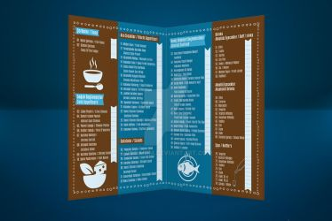Yakamoz Menu by zebanim