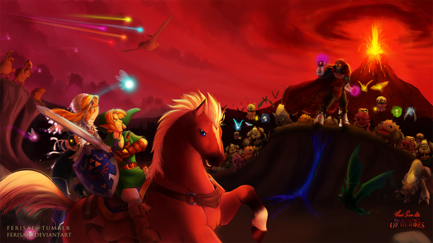 Zelda - War Without End by Ferisae