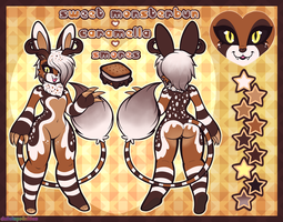 Ref. Sheet: S'mores Sweet Monsterbun by Dolcisprinkles