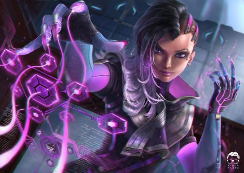 Overwatch Sombra by ramzapsyru