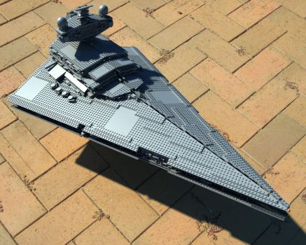 Lego Imperial Star Destroyer by MrElusive777